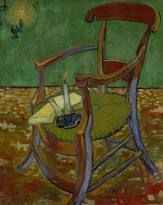 Gauguins Chair, Vincent van Gogh