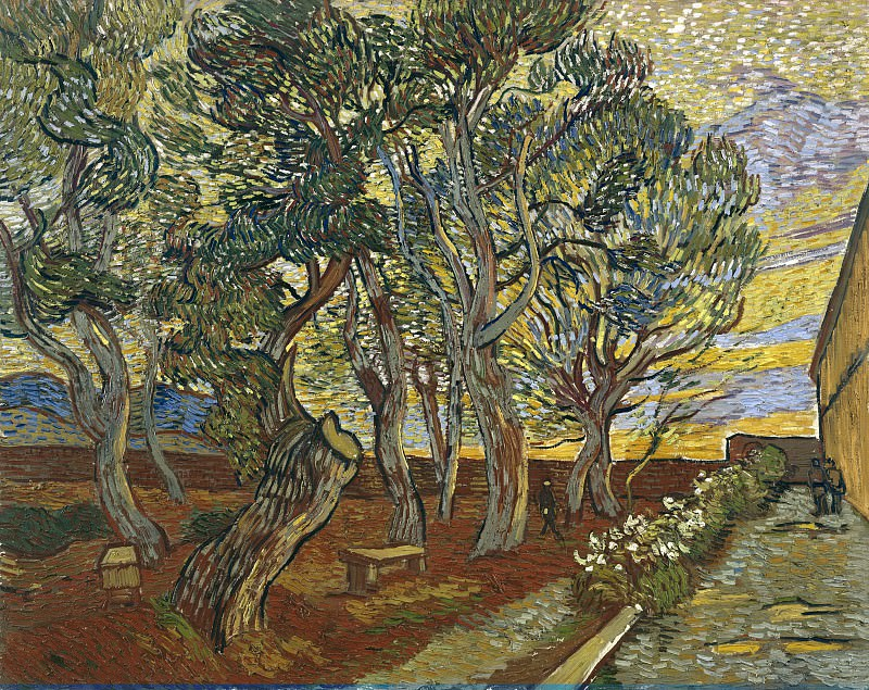 The Garden of Saint-Paul Hospital, Vincent van Gogh