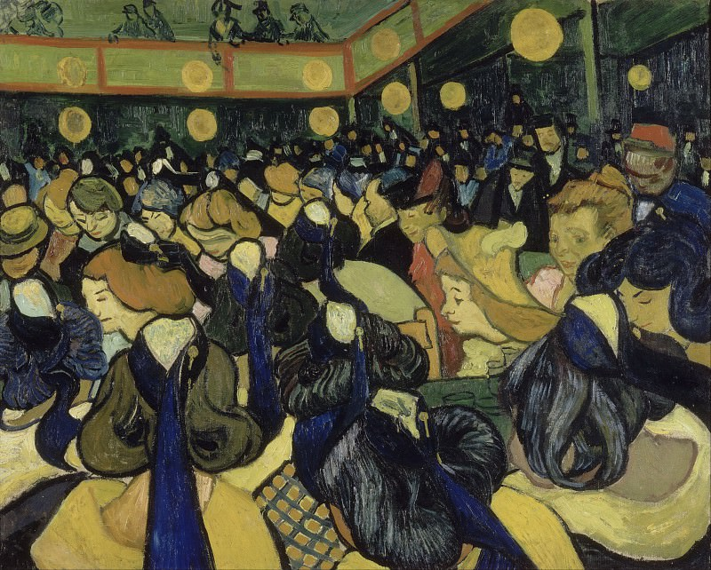 Dance Hall in Arles, Vincent van Gogh