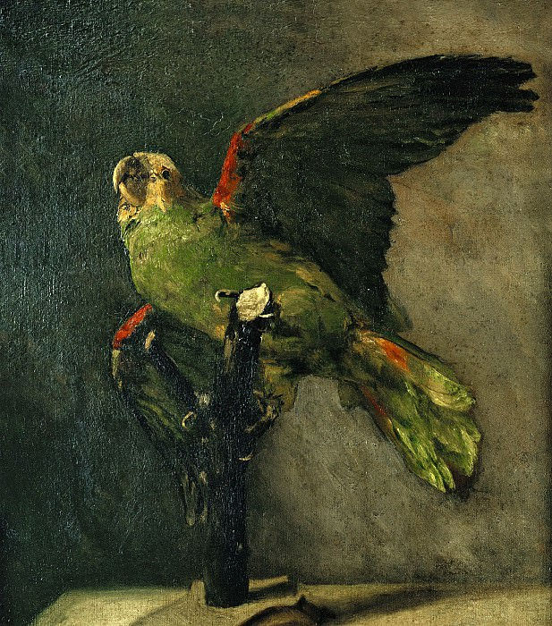 The Green Parrot, Vincent van Gogh