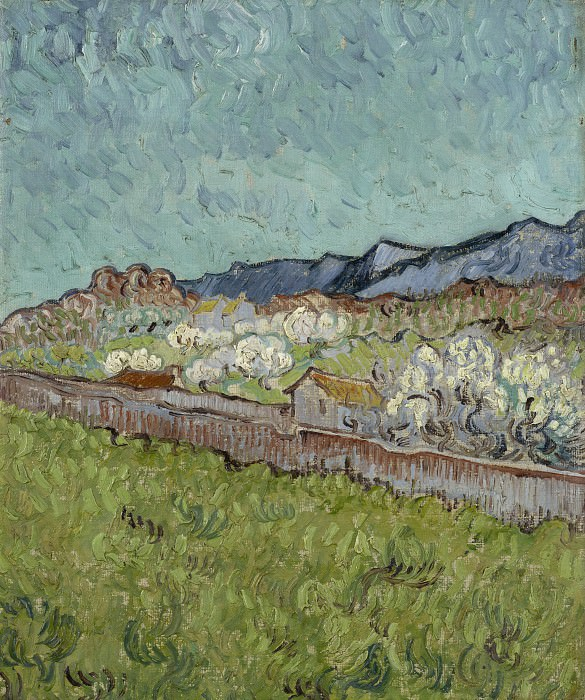 View of the Alpilles, Vincent van Gogh