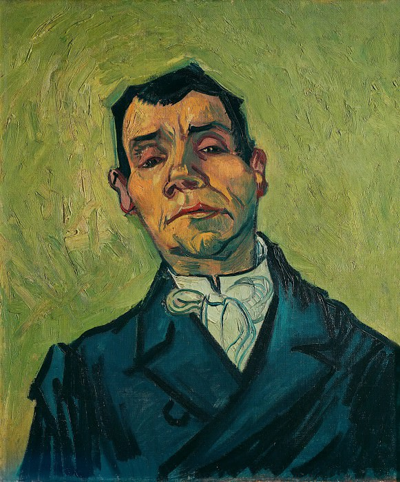 Portrait of Joseph-Michel Ginoux, Vincent van Gogh