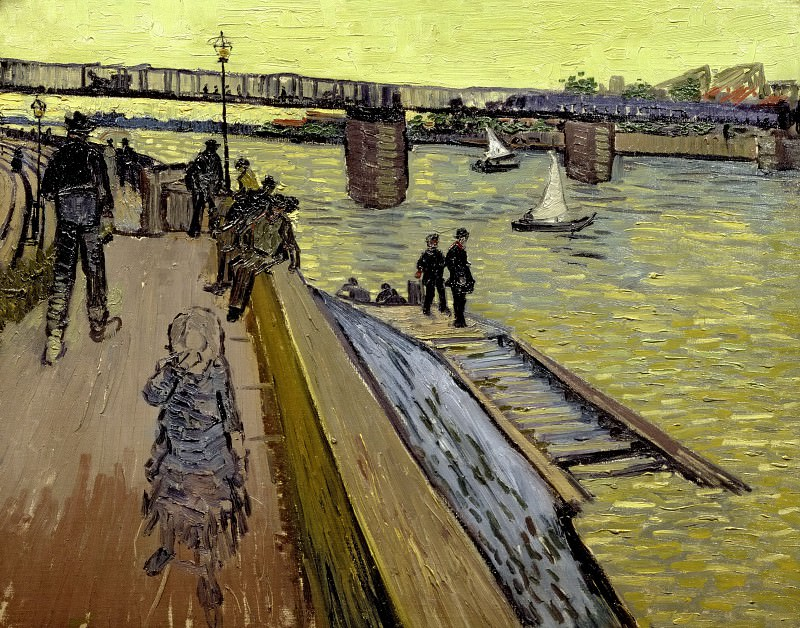 The Bridge at Trinquetaille, Vincent van Gogh
