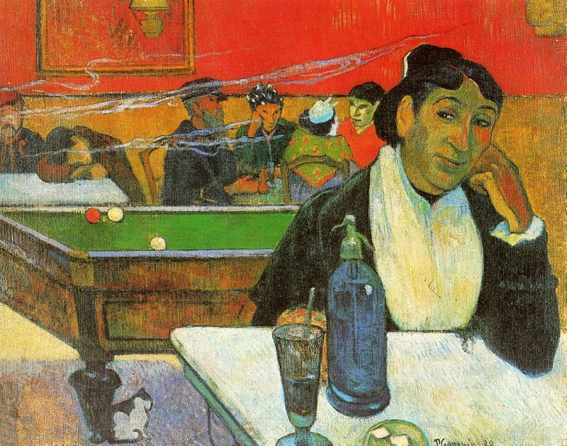 NIght Cafe in Arles Madame Ginoux, Vincent van Gogh