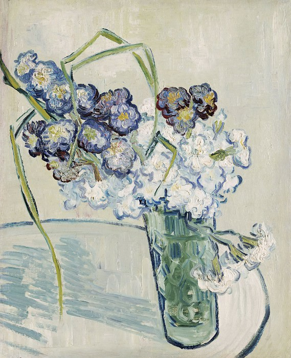 Glass with Carnations, Vincent van Gogh