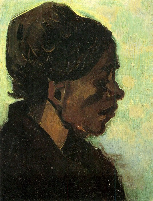 Head of a Brabant Peasant Woman, Vincent van Gogh