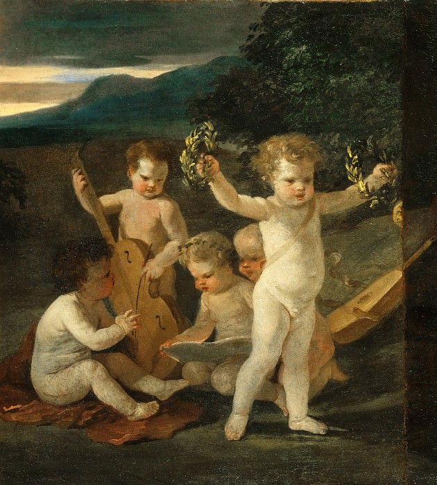 Concert of Cupids, Nicolas Poussin