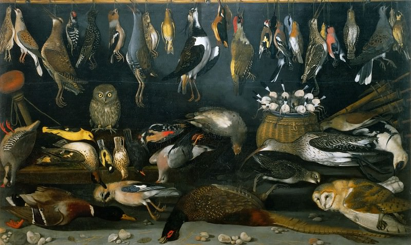 Still Life with Birds school, Michelangelo Merisi da Caravaggio