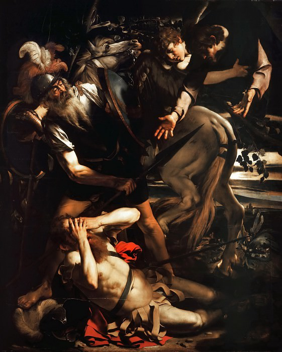 Conversion of Saint Paul, Michelangelo Merisi da Caravaggio