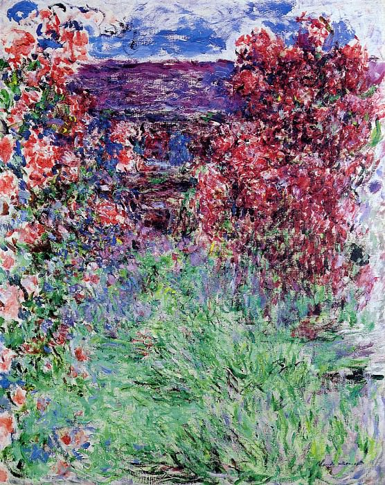 The House among the Roses, Claude Oscar Monet
