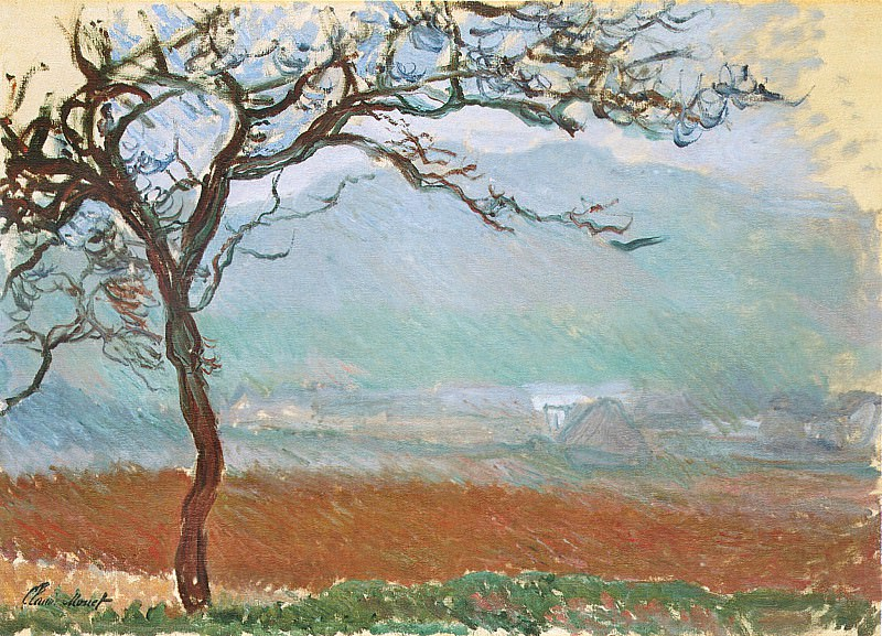 Landscape at Giverny, Claude Oscar Monet