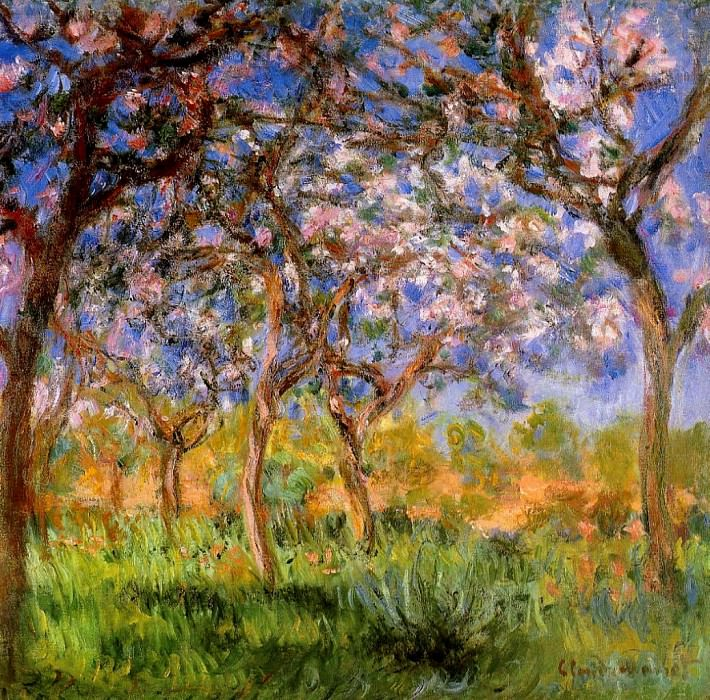 Giverny in Springtime, 1899-1900, Claude Oscar Monet