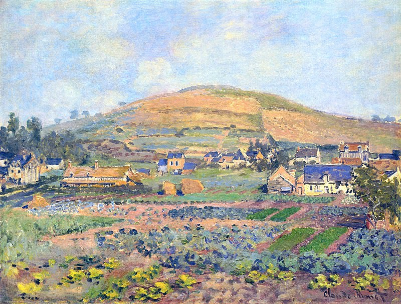 The Mount Riboudet in Rouen at Spring, Claude Oscar Monet