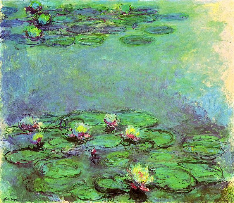 Water Lilies, 1914-17 07, Claude Oscar Monet