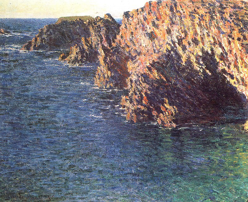 The Grotto of Port-Domois, Claude Oscar Monet