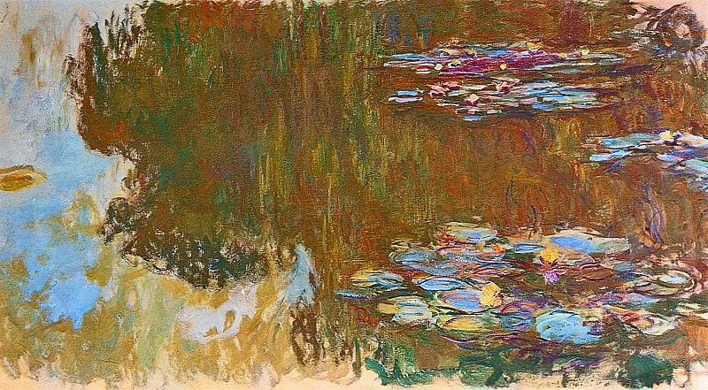 Water Lilies, 1917-19 01, Claude Oscar Monet