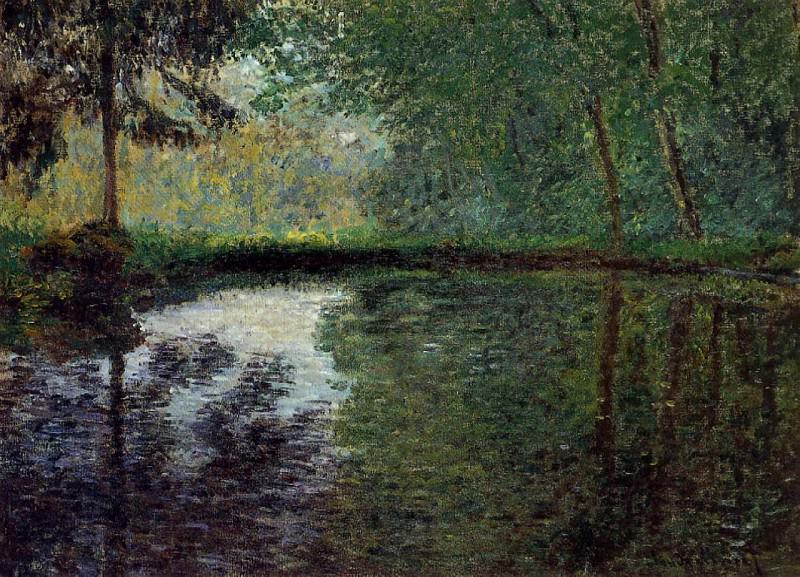 The Pond at Montgeron 2, Claude Oscar Monet