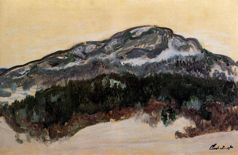Mount Kolsaas, Norway, Claude Oscar Monet