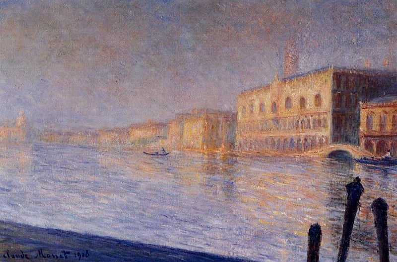 The Doges Palace, Claude Oscar Monet