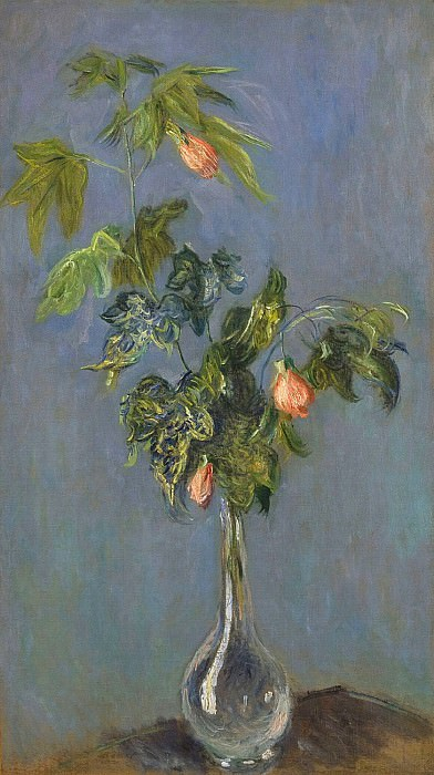 Flowers in a Vase, Claude Oscar Monet