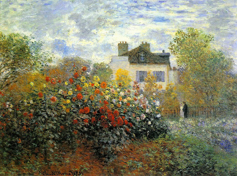The Garden of Monet at Argenteuil, Claude Oscar Monet