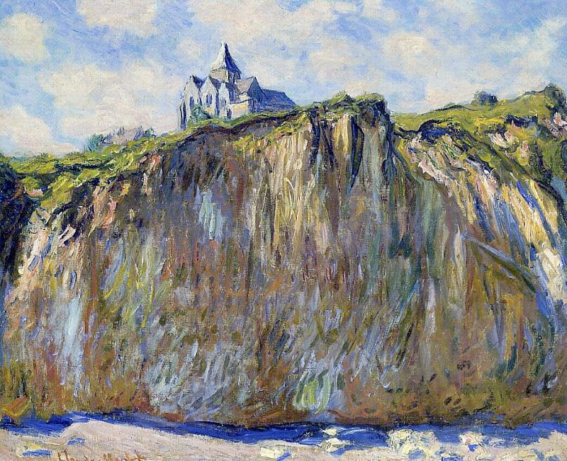The Church at Varengeville, Claude Oscar Monet