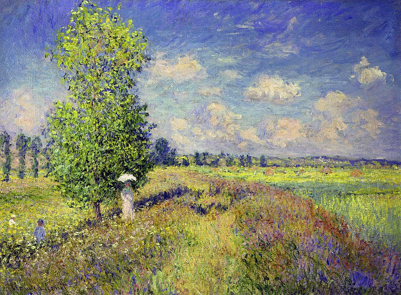 The Summer, Poppy Field, Claude Oscar Monet