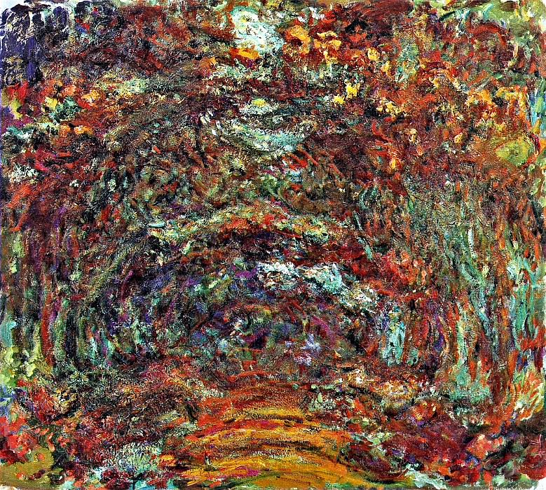 Path under the Rose Arches, Giverny, Claude Oscar Monet