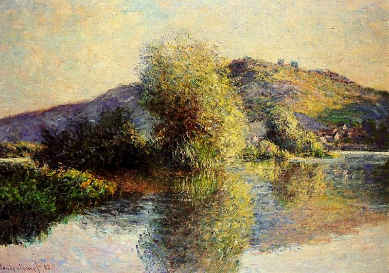Isleets at Port-Villez, Claude Oscar Monet
