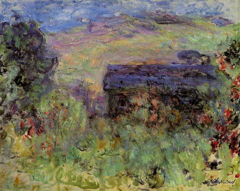 The House Seen through the Roses, Claude Oscar Monet