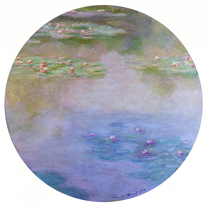 Water Lilies, 1907 08, Claude Oscar Monet