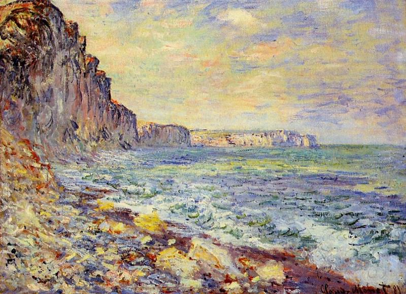 Morning by the Sea, Claude Oscar Monet