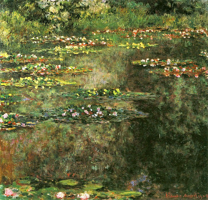Water Lilies, 1904 02, Claude Oscar Monet