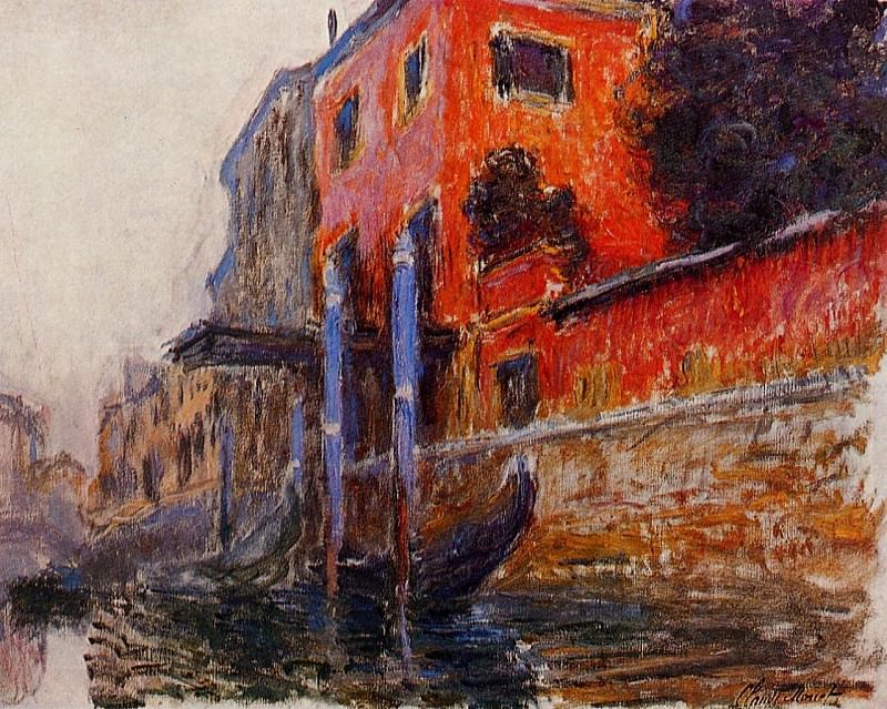 The Red House, Claude Oscar Monet