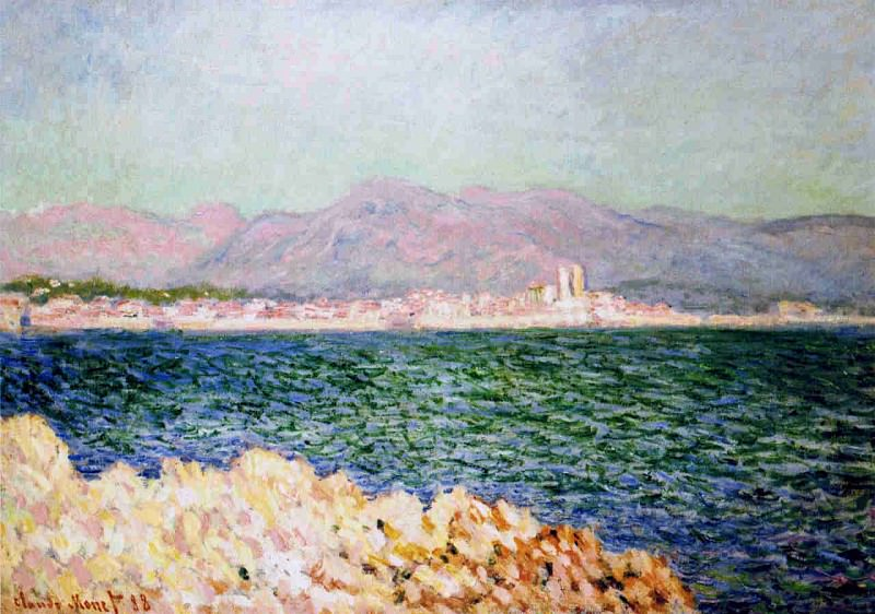 The Gulf of Antibes, Claude Oscar Monet