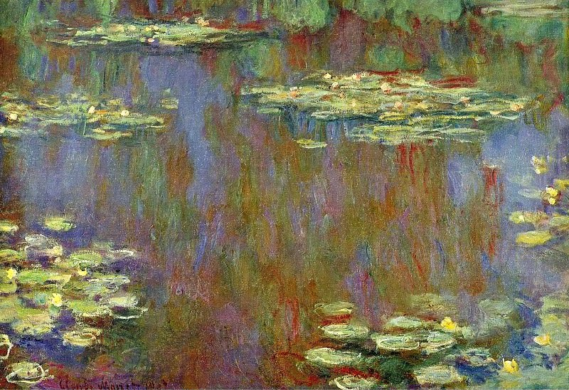 Water Lilies, 1906-07 01, Claude Oscar Monet