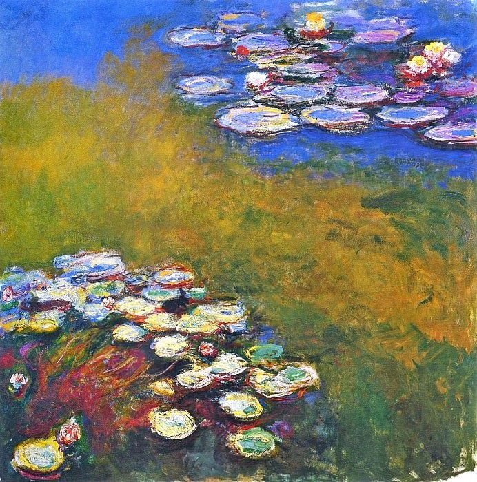 Water Lilies, 1914-17 04, Claude Oscar Monet