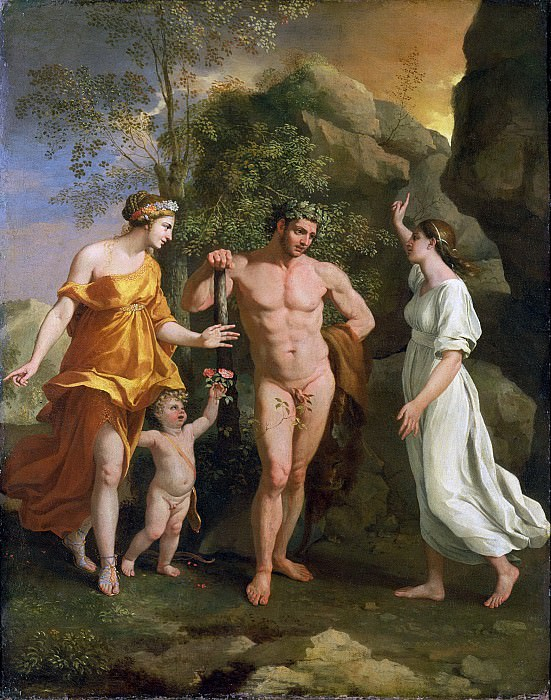 The Choice of Hercules, Nicolas Poussin