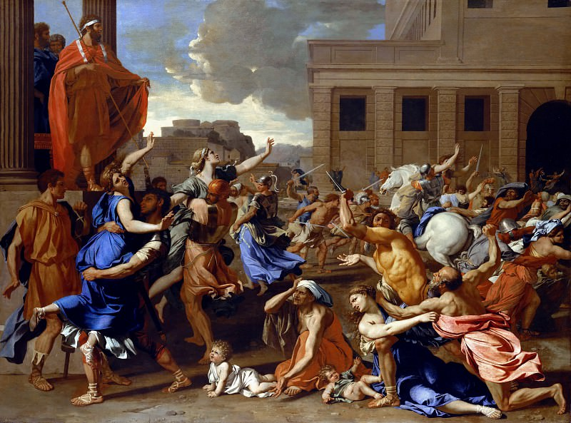 The Abduction of the Sabine Women, Nicolas Poussin