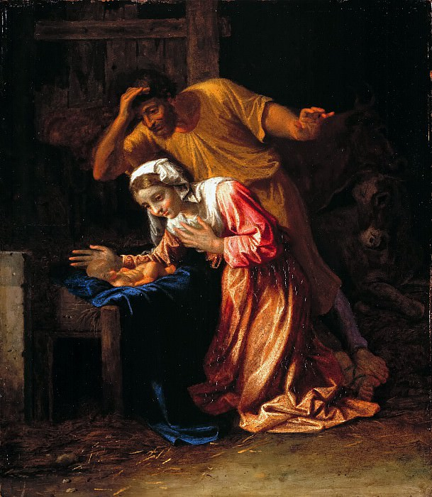 The Nativity, Nicolas Poussin