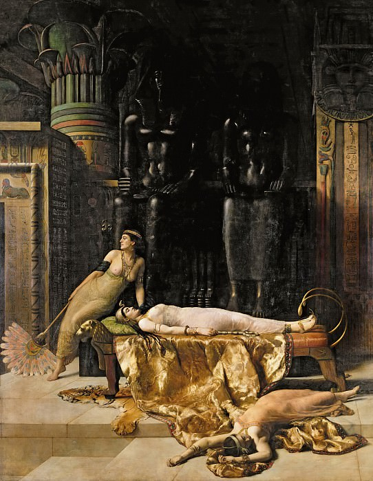 The Death of Cleopatra, John Collier