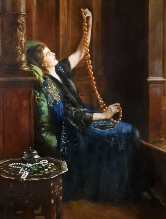 The Amber Necklace, John Collier