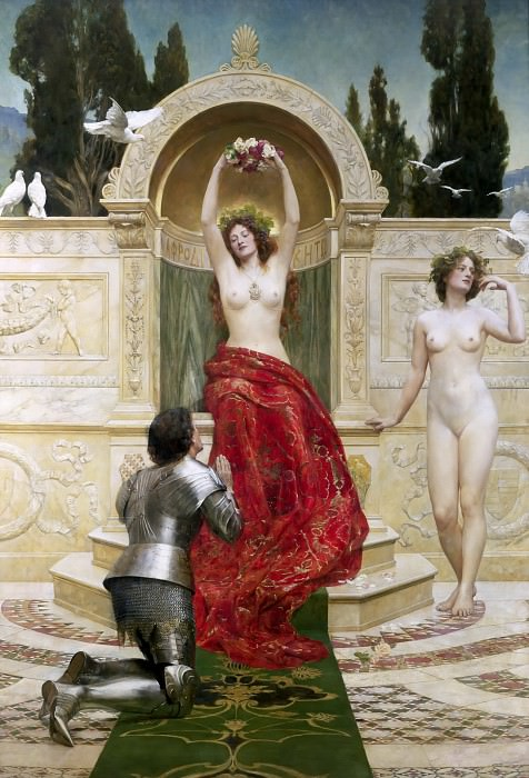 In the Venusberg Tannhauser, John Collier