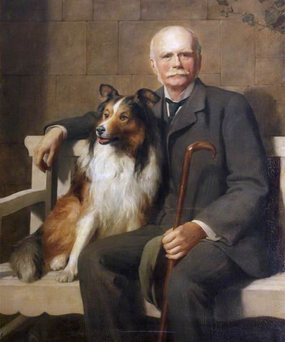 Mark George Kerr Rolle 18351907, John Collier