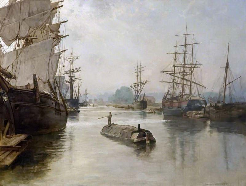 Gloucester Docks, John Collier