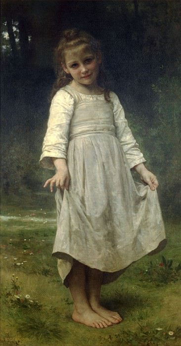 The reverence, Adolphe William Bouguereau