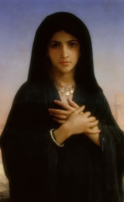 The Penitent, Adolphe William Bouguereau