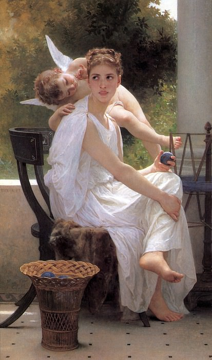 Work Interrupted, Adolphe William Bouguereau