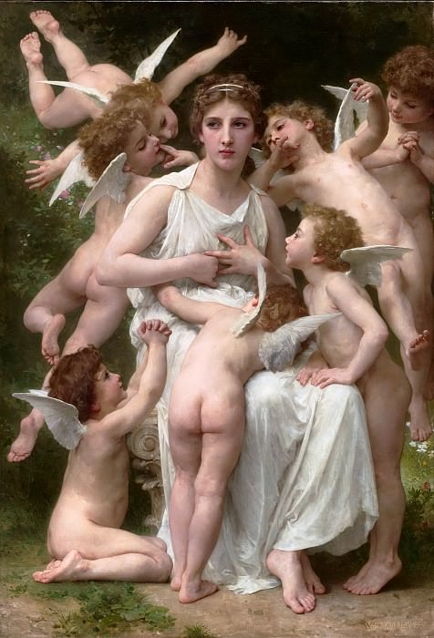 The Assault, Adolphe William Bouguereau