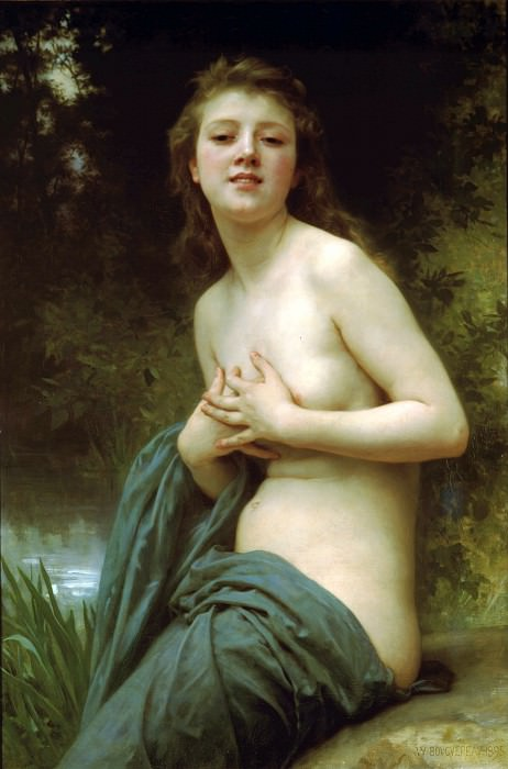 Spring Breeze, Adolphe William Bouguereau